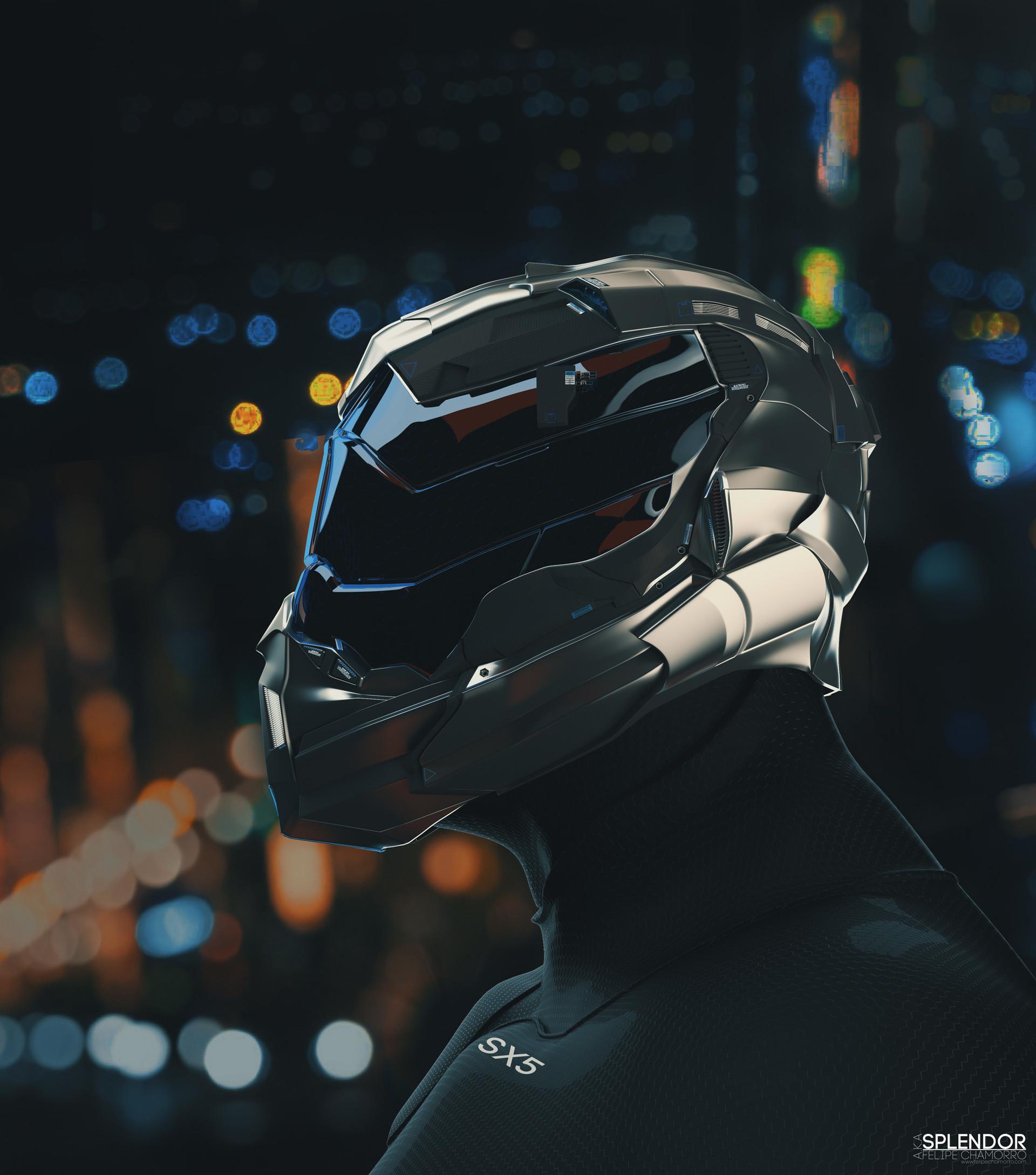 Splendor Helmet  SX5 Bust